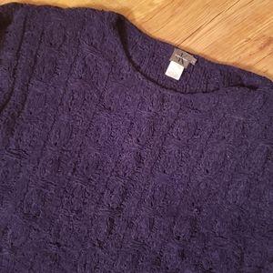 Calvin Klein crewneck cable knit sweater.  Size L